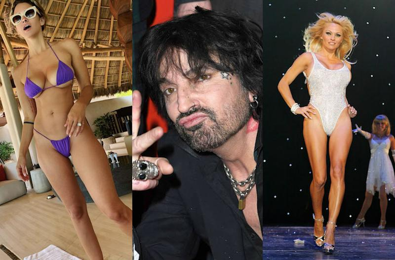 Brittany Furlan, Tommy Lee, Pamela Anderson. (Photo: Instagram/Getty Images)