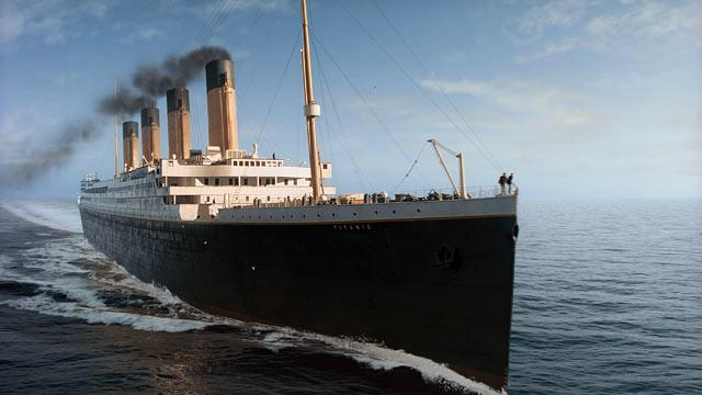 James Cameron Finally Finishes 'Titanic'