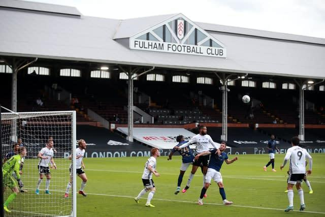 Fulham's return to action last weekend ended in defeat (Adam Davy/PA)