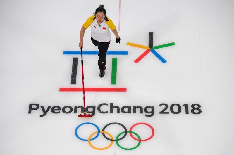 """Just say """"the Winter Olympics in South Korea."""" (FRANCOIS-XAVIER MARIT via Getty Images)"""