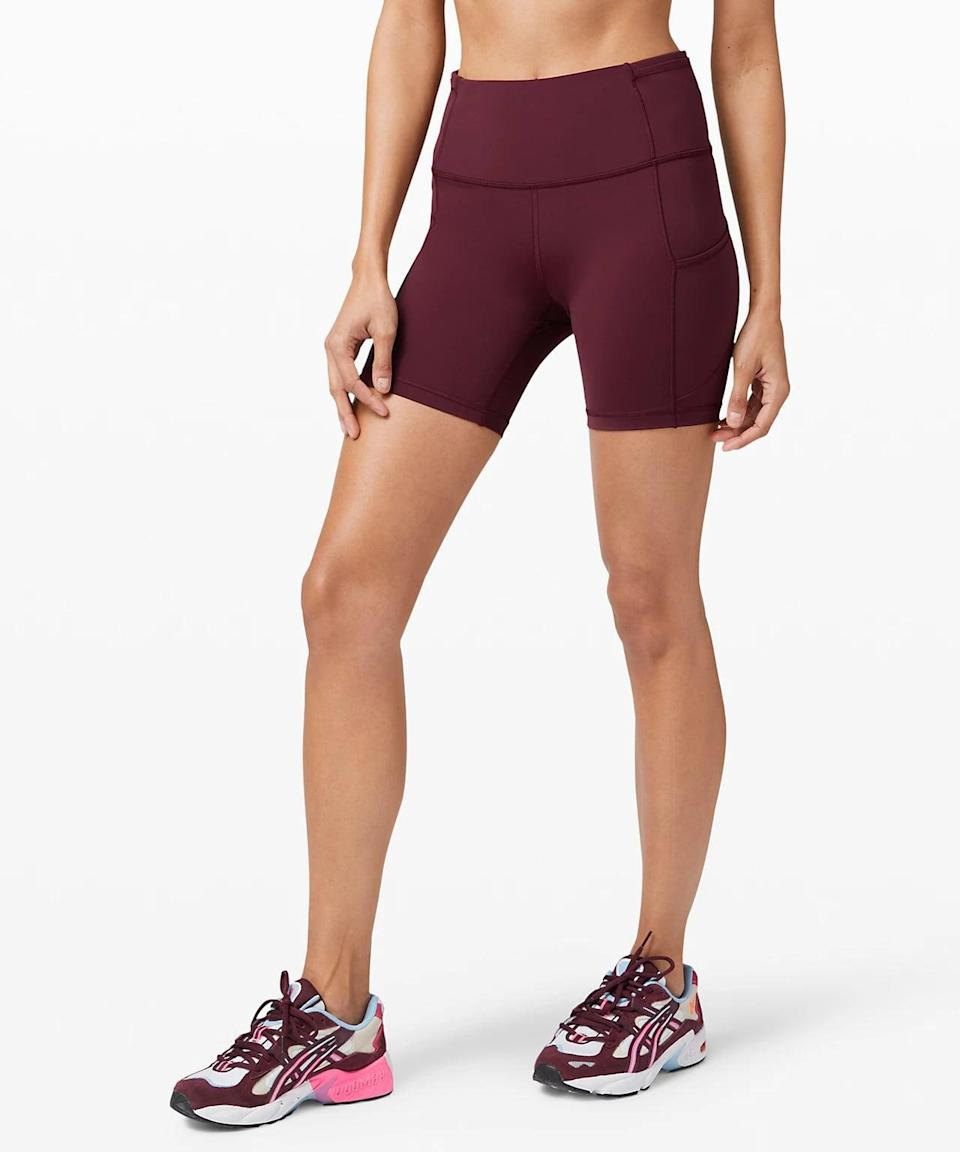 <p>These cute <span>Lululemon Fast and Free Shorts</span> ($68) come in a bunch of different colors and are super soft.</p>