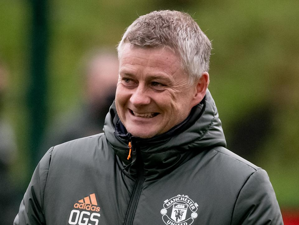 Manchester United manager Ole Gunnar Solskjaer (Manchester United via Getty Images)