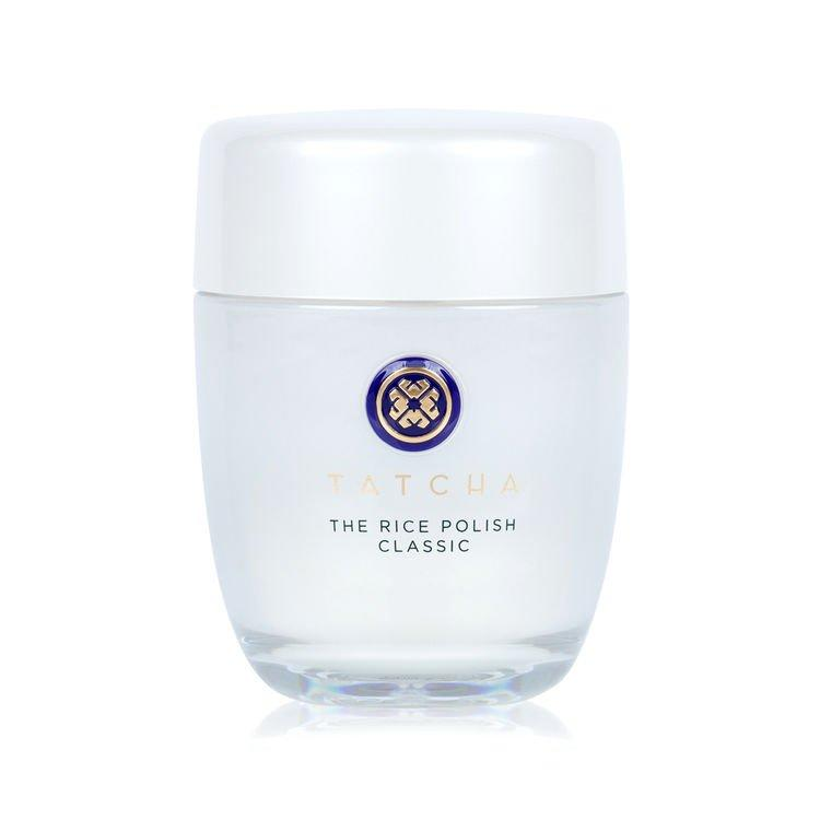 """<p><strong></strong></p><p>tatcha.com</p><p><strong>$65.00</strong></p><p><a rel=""""nofollow"""" href=""""https://www.tatcha.com/product/CL-POWDER-V2.html?cgid=shop_all#gclid=EAIaIQobChMIoe_puYnF3gIVRz0MCh2rfwzDEAAYASAAEgLpnfD_BwE&pageNum=2&start=1"""">Shop Now</a></p>A water-activated exfoliant of nourishing Japanese Rice Bran that transforms to a creamy foam for smooth, polished skin with a healthy glow."""