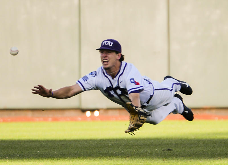 TCU can't get big hit in 6-4 CWS loss to Ole Miss