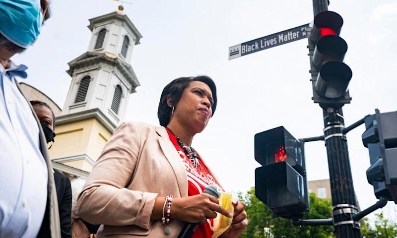 Washington DC mayor calls on Trump to pull troops and federal forces out of city