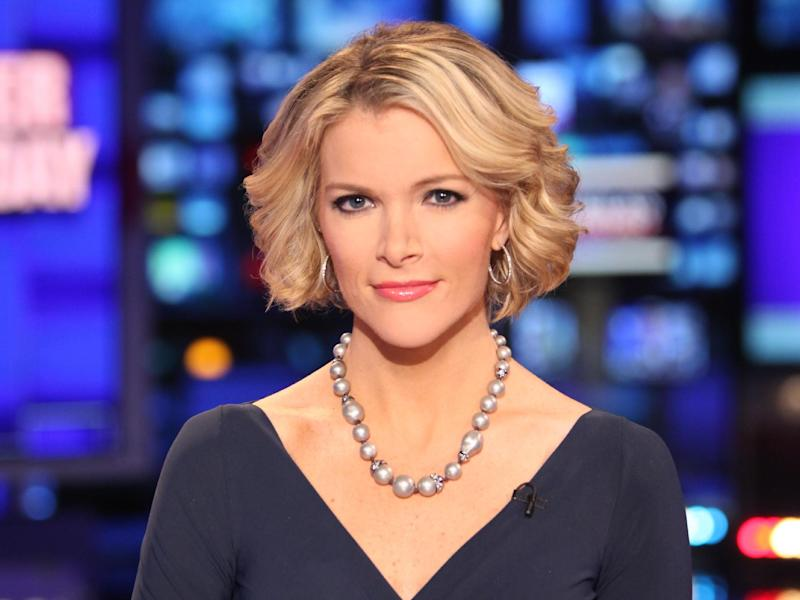 "FILE - In this March 6, 2012 file photo provided by Fox News, Fox News anchor Megyn Kelly poses at the anchor desk at the Fox studios in New York. Kelly says she's offended by a male colleague's suggestion that children of working mothers don't do as well as families with stay-at-home moms. A study released this week showing that women are now the primary breadwinners in households with children ignited a sharp debate with two of Fox's most prominent women taking on male colleagues. In an electric segment on Kelly's show Friday, she criticized Fox contributor Erick Erickson for saying that in nature, males are dominant. She said to Erickson, ""what makes you dominant and me submissive and who died and made you scientist-in-chief?""  (AP Photo/Fox News, Alex Kroke)"