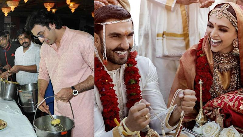 Netizens Found Ranbir Kapoor Attending Ranveer Singh - Deepika Padukone's Wedding and the Picture Will Leave You ROTFL