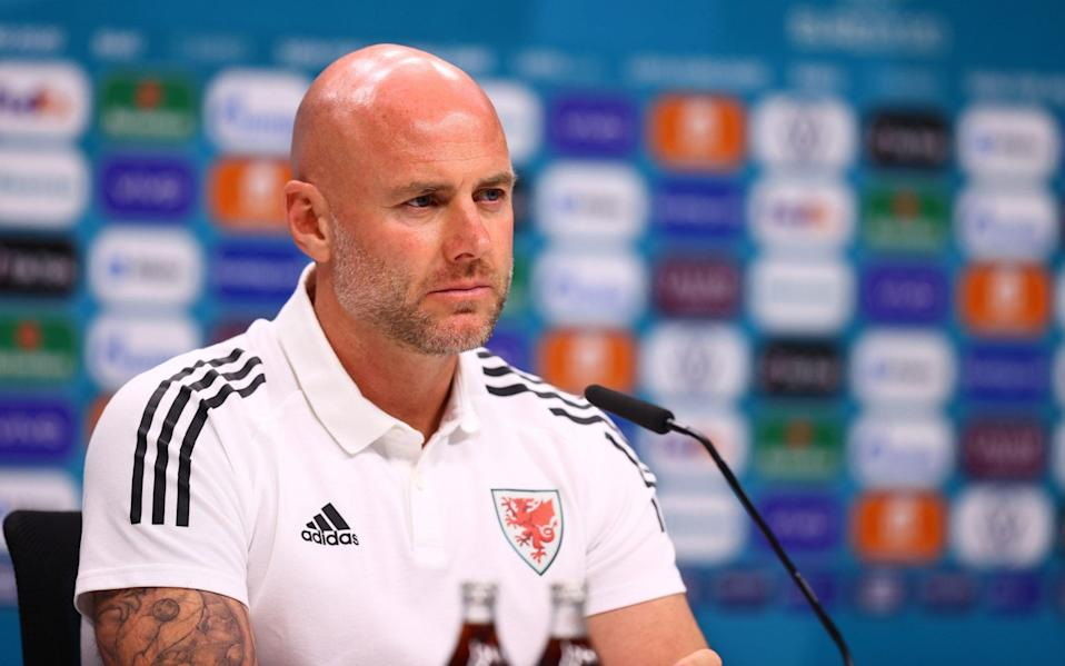 Rob Page speaks to the media - GETTY IMAGES