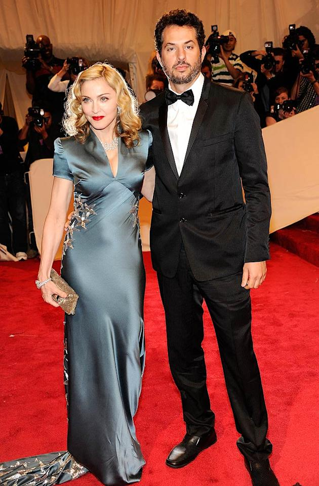 "Nobody was looking at Madonna's manager, Guy Oseary, because all eyes were on the 52-year-old Material Girl, who put women half her age to shame in a star-covered, Old Hollywood-inspired Stella McCartney gown and diamond accessories. Kevin Mazur/<a href=""http://www.wireimage.com"" target=""new"">WireImage.com</a> - May 2, 2011"