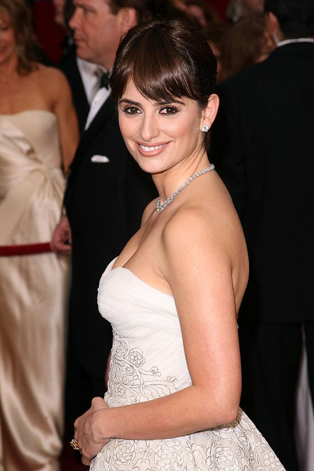 Penelope Cruz at the 81st Annual Academy Awards - Feb. 22, 2009