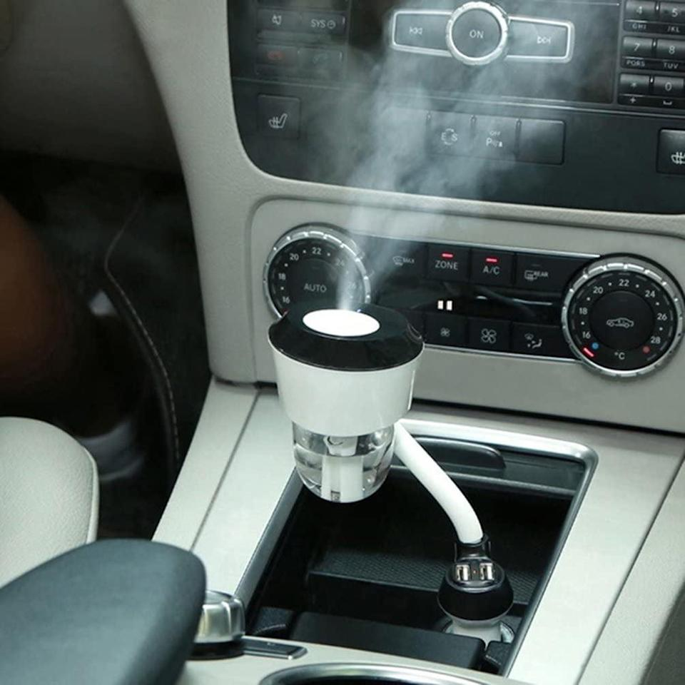 <p>Your car will constantly smell great with this <span>Vyaime Car Diffuser</span> ($18).</p>
