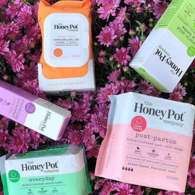 """<p><a class=""""link rapid-noclick-resp"""" href=""""https://thehoneypot.co/"""" rel=""""nofollow noopener"""" target=""""_blank"""" data-ylk=""""slk:SHOP NOW"""">SHOP NOW</a></p><p>Bea Dixon, founder of The Honey Pot Company, suffered from bacterial vaginosis and did some research to find a natural solution. What resulted is her complete line of plant-based feminine care products that cleanse, protect, and balance your vagina.</p><p><a href=""""https://www.instagram.com/p/CGbLrBrDma2/"""" rel=""""nofollow noopener"""" target=""""_blank"""" data-ylk=""""slk:See the original post on Instagram"""" class=""""link rapid-noclick-resp"""">See the original post on Instagram</a></p>"""