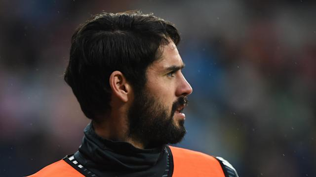 He was absent for Saturday's derby win at Atletico Madrid and Real Madrid have now confirmed playmaker Isco has neck and back pain.