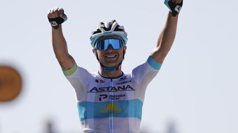 Lutsenko wins stage 6 of Tour de France, Yates keeps hold of yellow jersey