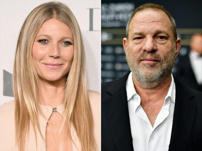 Gwyneth Paltrow, left, and Harvey Weinstein | Nicholas Hunt/Getty; Alexander Koerner/Getty