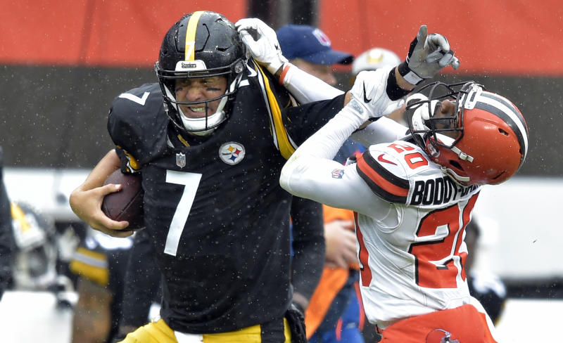 0f9e84fdce2 Elbow issue shelves Roethlisberger for 2nd straight practice