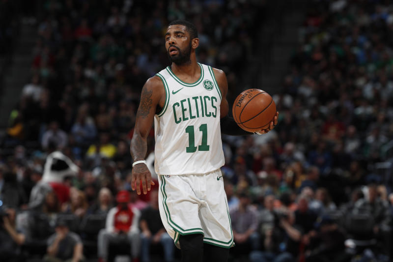 44df363f752f Kyrie Irving is 15 games into another strong season for the Boston Celtics.