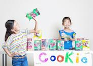 """<div class=""""caption-credit""""> Photo by: Jason Lee / jwlphotography.com</div>Selling Girl Scout Cookies."""