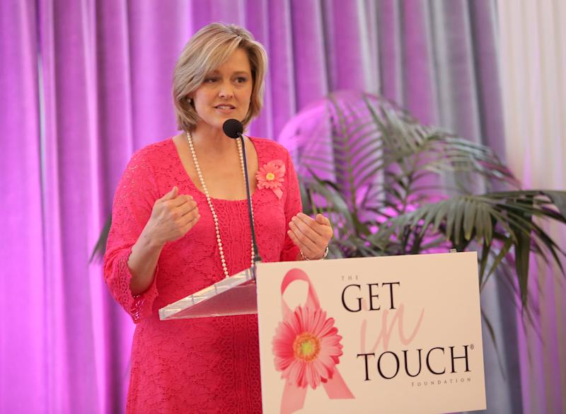 SANTA MONICA, CA - MARCH 16: Founder, President and CEO of The Get In Touch Foundation Mary Ann Wasil attends the Get In Touch Foundation's 2014 Pretty In Pink Luncheon and Women of Strength Awards at the Casa del Mar Hotel on March 16, 2014 in Santa Monica, California. (Photo by Jesse Grant/Getty Images for The Get In Touch Foundation)