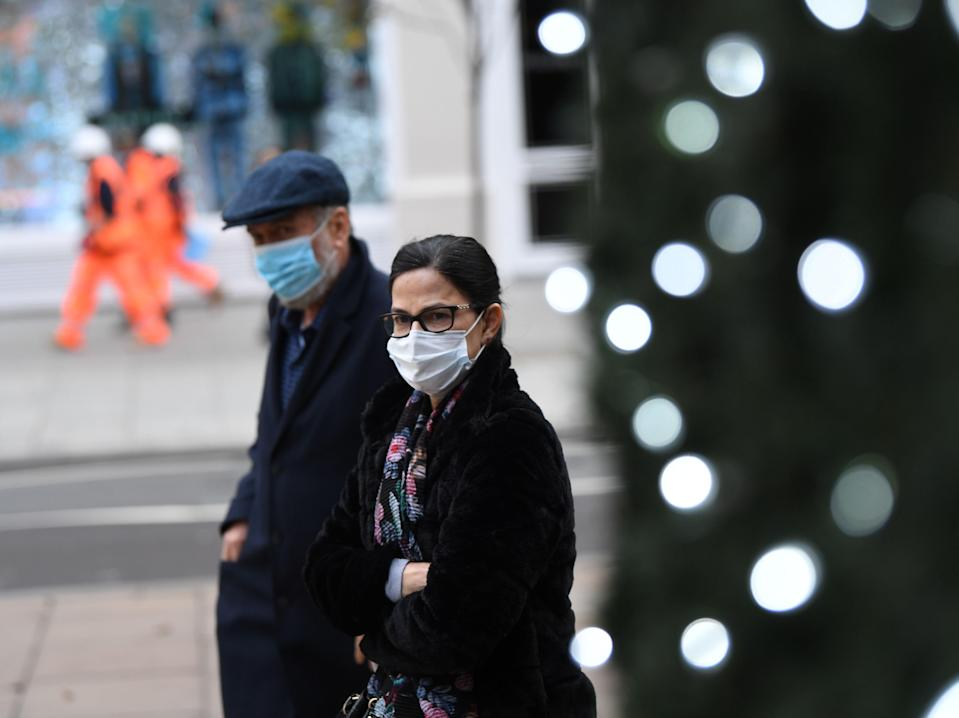 <p>The usual routes of transmission for flu have been blocked by anti-Covid measures such as masks</p> (AFP/Getty)