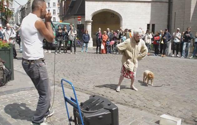 This Granny has all the moves. Photo: YouTube