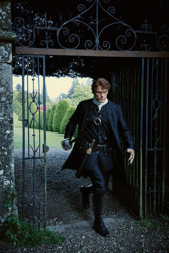 Five minutes iwht sAm Heughan