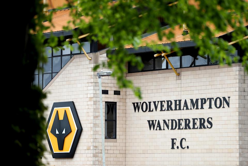 A general view of the stadium ahead of the Premier League match at the Molineux Stadium, Wolverhampton (Bradley Collyer/PA) (PA Wire)