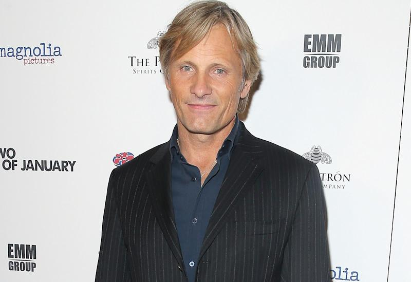Viggo Mortensen at The Two Faces Of January premiere in New York City September 12, 2014