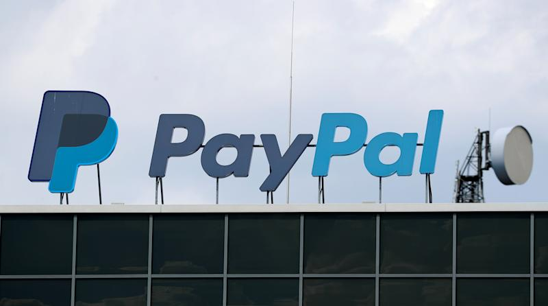 The German headquarters of the electronic payments division PayPal is pictured at Europarc Dreilinden business park south of Berlin in Kleinmachnow, Germany, August 6, 2019. REUTERS/Fabrizio Bensch