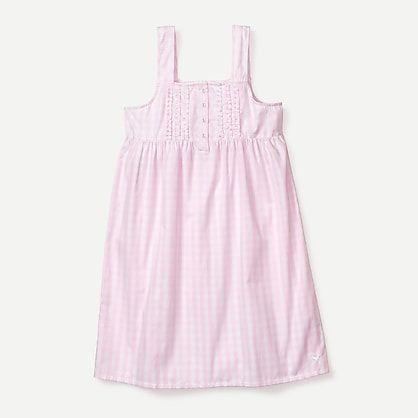 "<p><strong>J.Crew</strong></p><p>jcrew.com</p><p><strong>$78.00</strong></p><p><a href=""https://go.redirectingat.com?id=74968X1596630&url=https%3A%2F%2Fwww.jcrew.com%2Fp%2FM5554&sref=https%3A%2F%2Fwww.countryliving.com%2Fshopping%2Fgifts%2Fg35120806%2Fbest-pajamas%2F"" rel=""nofollow noopener"" target=""_blank"" data-ylk=""slk:Shop Now"" class=""link rapid-noclick-resp"">Shop Now</a></p><p>This nightgown is so adorable you could even get away with wearing it as a dress. </p>"