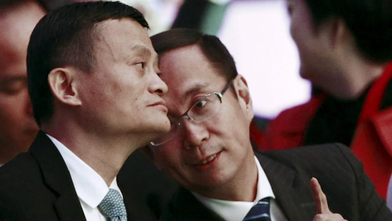Alibaba appoints Daniel Zhang to succeed Jack Ma as chairman in 12-month succession plan