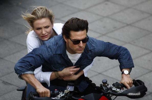 Tom Cruise and Cameron Diaz seen during the shooting of the film 'Knight and Day' on December 9, 2009 in Seville, Spain. (Photo by Jose Antonio De Lamadrid/Getty Images)