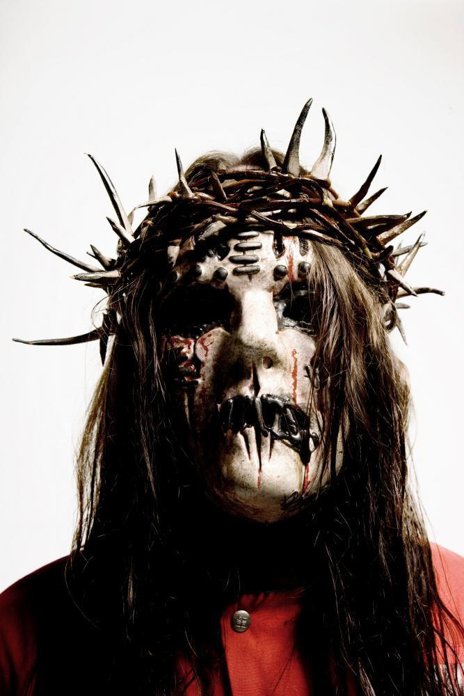 Jordison in his Slipknot outfit, in 2008.