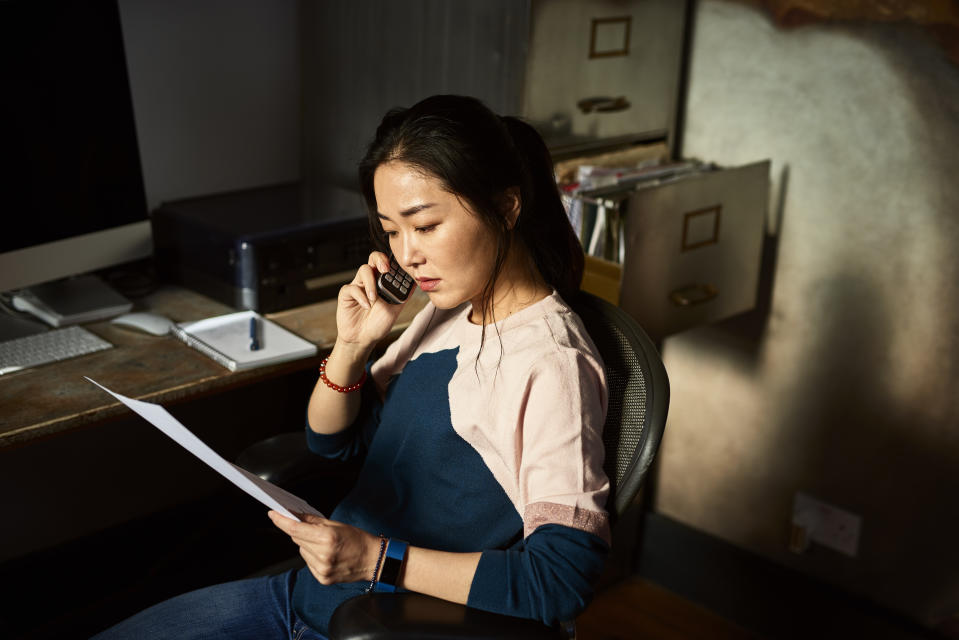 """""""If your utilities are shut off for non-payment, you should immediately reach out to your local utility or electricity provider,"""" said Kelly Bedrich, president of electricityplans.com, an electricity plan marketplace. (Source: Getty Creative)"""