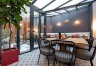 """<p><a href=""""https://www.booking.com/hotel/fr/de-l-39-esperance.en-gb.html?aid=1922306&label=paris-hotels"""" rel=""""nofollow noopener"""" target=""""_blank"""" data-ylk=""""slk:Hotel de L'Esperance"""" class=""""link rapid-noclick-resp"""">Hotel de L'Esperance</a> sits in Paris' Latin Quarter: home to the Sorbonne, the Pantheon, famous cafés and numerous arthouse cinemas. With so much on your doorstep - including bakeries galore - you might not spend much time at the hotel. But the time you do spend will be in a warm and elegant environment.</p><p>This modernist boutique hotel is styled around the best of the 70s, with soft colours, floral motifs and antique furniture, preserving the Parisian charm. There's even a typical Parisian lift to take you to your room. The devil is in the details, with record players, lava lamps and framed prints decorating the rooms and the cosy lounge. A must-do? Taking coffee on the Patio de l'Espérance before a day exploring this wonderful district.</p><p><a class=""""link rapid-noclick-resp"""" href=""""https://www.booking.com/hotel/fr/de-l-39-esperance.en-gb.html?aid=1922306&label=paris-hotels"""" rel=""""nofollow noopener"""" target=""""_blank"""" data-ylk=""""slk:CHECK AVAILABILITY"""">CHECK AVAILABILITY</a></p>"""