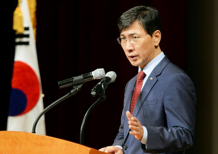 Ahn had been tipped as a front-runner among liberal presidential hopefuls to succeed Moon Jae-in