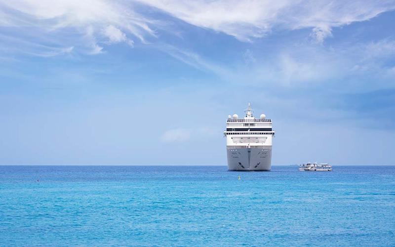 Across the world many cruise lines have safety started to carry passengers - RALF HETTLER