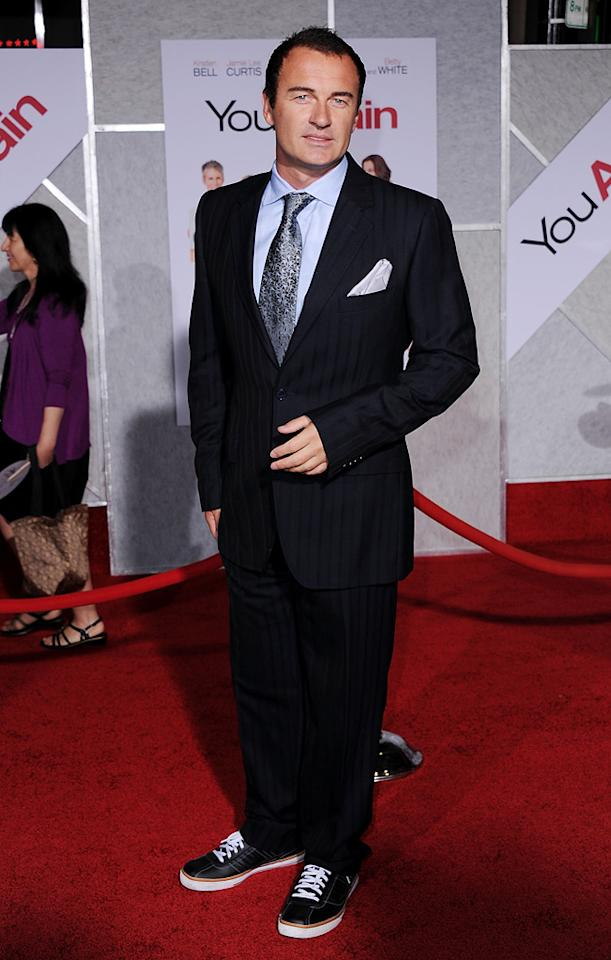 "<a href=""http://movies.yahoo.com/movie/contributor/1800193196"">Julian McMahon</a> attends the Los Angeles premiere of <a href=""http://movies.yahoo.com/movie/1810111331/info"">You Again</a> on September 22, 2010."