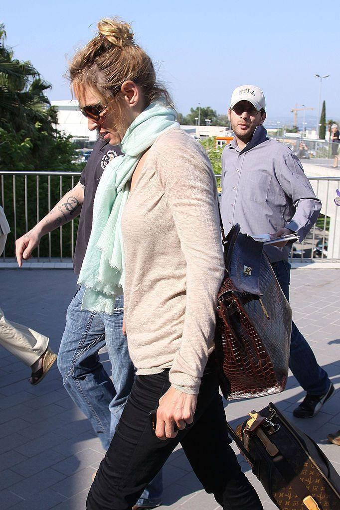 <p>Uma Thurman in Nice, France.<br></p><p>Other celebrity visitors this year: Paris Hilton, Seal, Heidi Klum, Beyonce, Rachel McAdams, Jude Law. </p>
