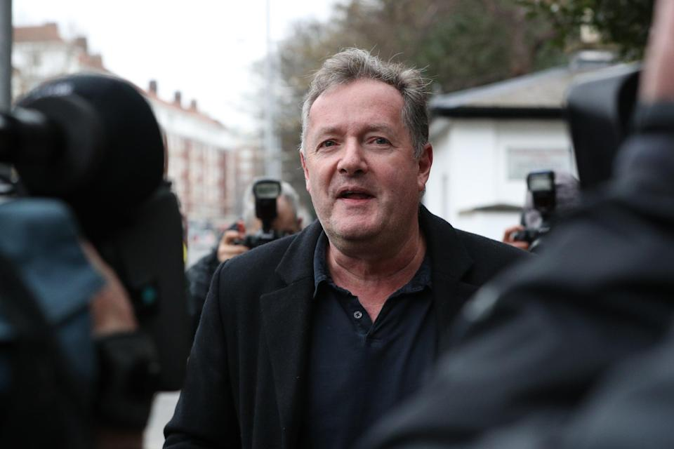 Piers Morgan has recently called for an end to cancel culture (PA Wire)