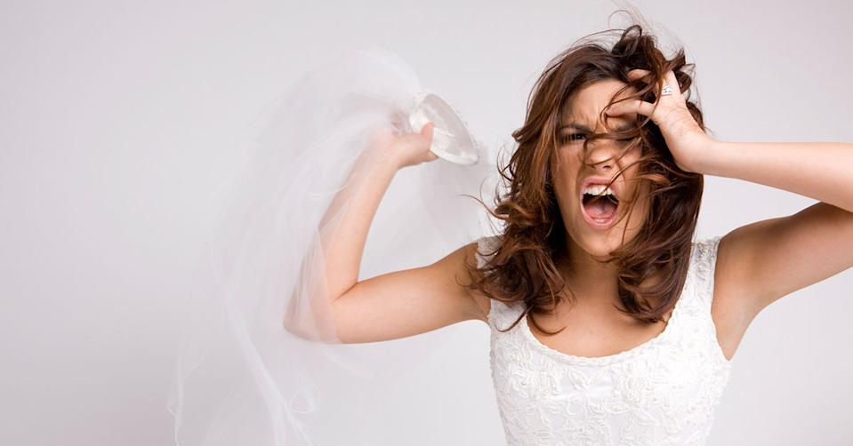 A bridal store worker has shared a bridezilla story that left them 'speechless'. Photo: Getty
