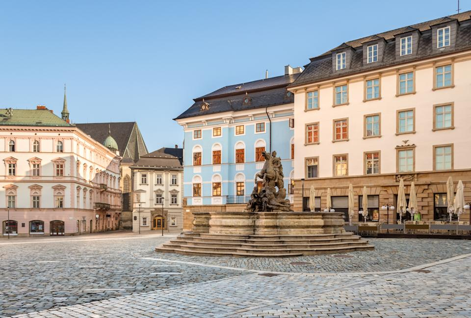 This Czech Republic city is home to six baroque fountains and the 18th-century Holy Trinity Column. [Photo: Getty]
