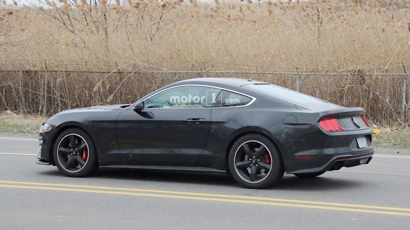 2019 ford mustang bullitt spied on the street update. Black Bedroom Furniture Sets. Home Design Ideas