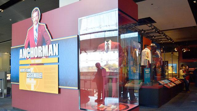 'Anchorman' in a Glass Case of Emotion at Newseum