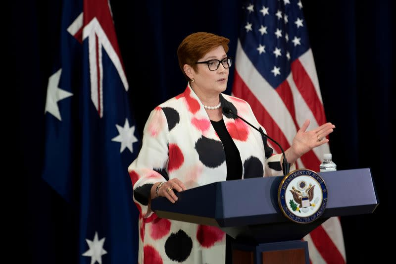 FILE PHOTO: News conference following the 30th AUSMIN in Washington
