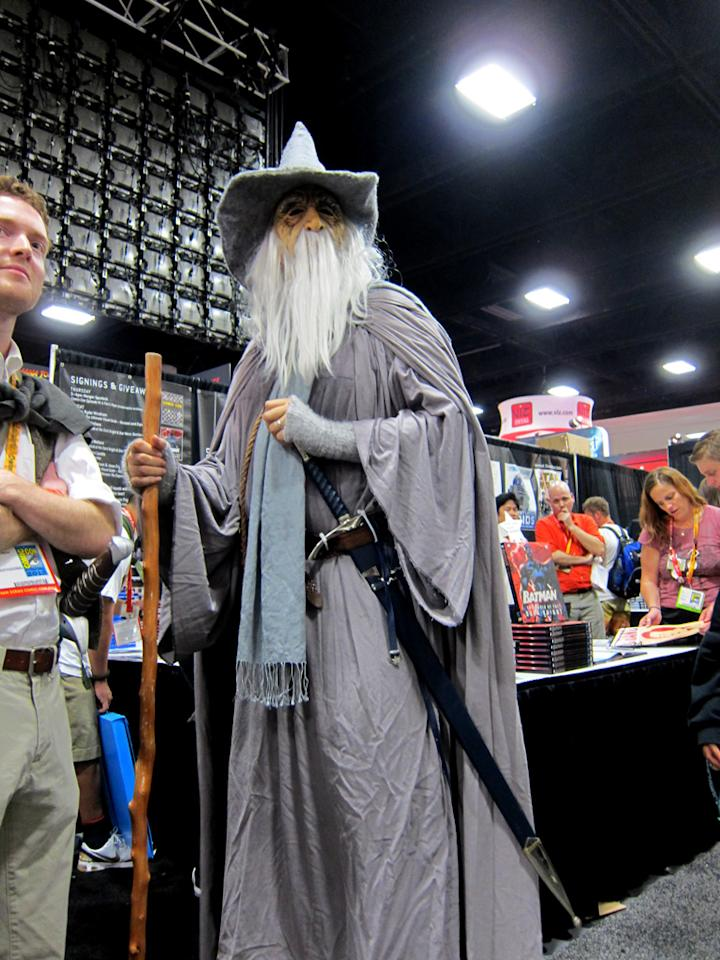 Gandalf the Grey declares you shall not pass - San Diego Comic-Con 2012
