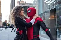 """<p>After all of the chaos of <em>Avengers: Endgame</em>, this smaller story, about Peter Parker's school trip to Europe (which gets upended by villain Mysterio, played by Jake Gyllenhaal), provides a nice denouement. </p><p><a class=""""link rapid-noclick-resp"""" href=""""https://www.amazon.com/Spider-Man-Far-Home-Tom-Holland/dp/B07TP6D1DP?tag=syn-yahoo-20&ascsubtag=%5Bartid%7C10055.g.29023076%5Bsrc%7Cyahoo-us"""" rel=""""nofollow noopener"""" target=""""_blank"""" data-ylk=""""slk:AMAZON"""">AMAZON </a> <a class=""""link rapid-noclick-resp"""" href=""""https://go.redirectingat.com?id=74968X1596630&url=https%3A%2F%2Fitunes.apple.com%2Fus%2Fmovie%2Fspider-man-far-from-home%2Fid1469325682&sref=https%3A%2F%2Fwww.goodhousekeeping.com%2Flife%2Fentertainment%2Fg29023076%2Fmarvel-movies-mcu-in-order%2F"""" rel=""""nofollow noopener"""" target=""""_blank"""" data-ylk=""""slk:ITUNES"""">ITUNES</a></p>"""