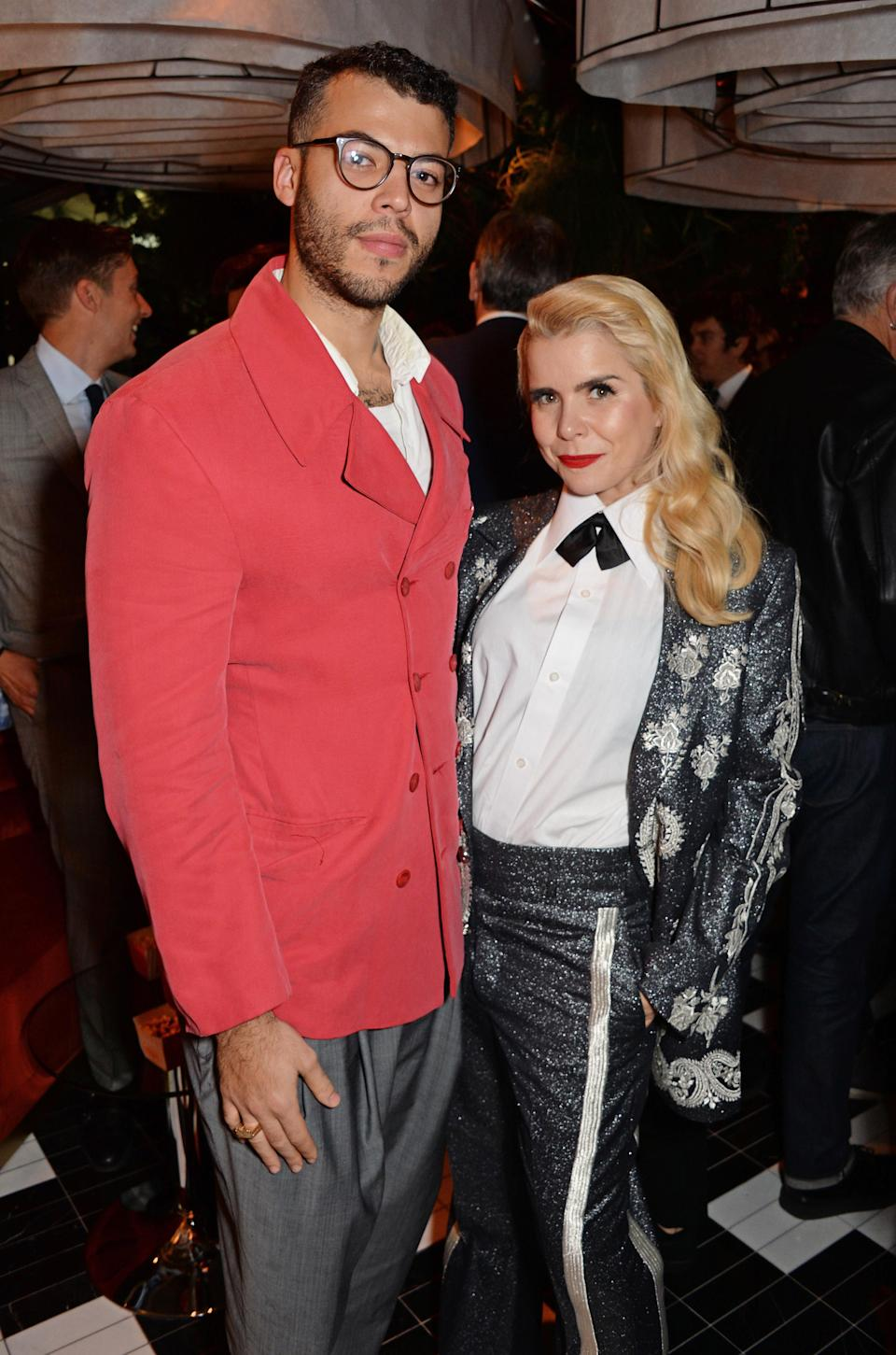 Paloma Faith and her partner Leyman Lahcine (pictured at the GQ 30th anniversary party in London in October 2018). [Photo: Getty]