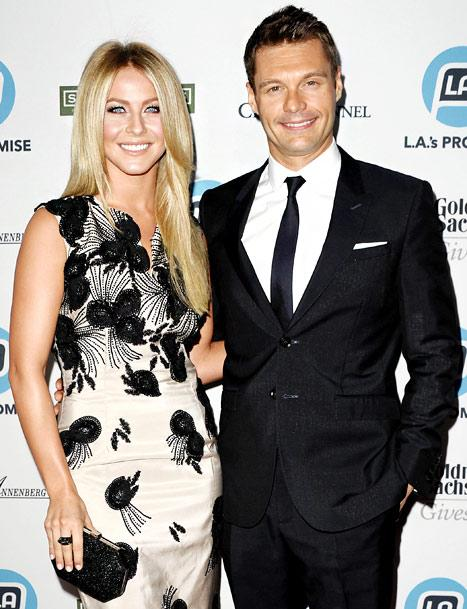 Ryan Seacrest Proposes to Julianne Hough on American Idol?