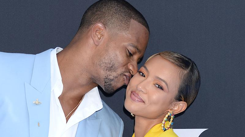 Talk About PDA—Karrueche Tran & Victor Cruz Had The Spiciest Couple Moment
